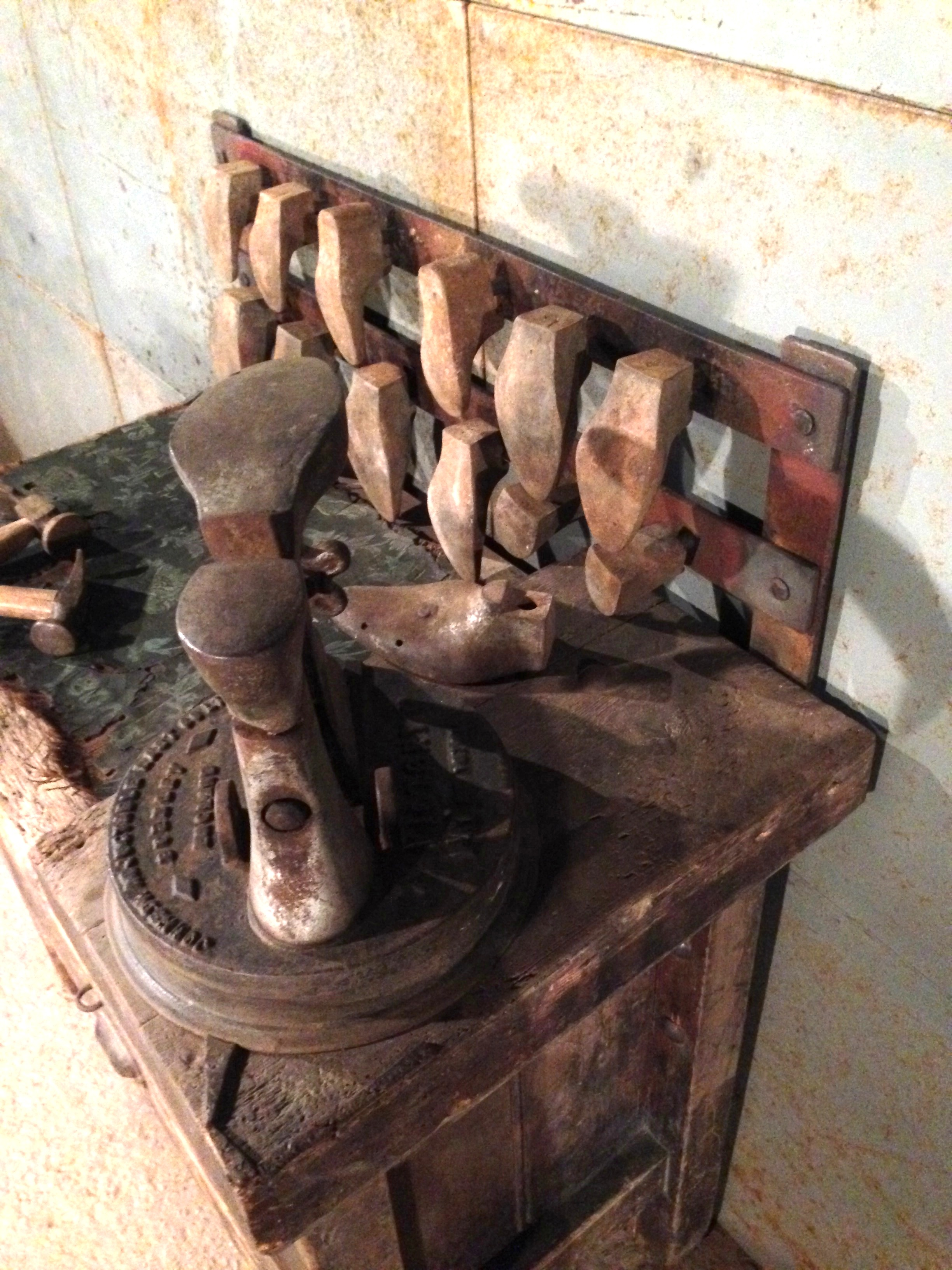 Cobblers Bench Amp Tooling Artistic Industrial Part 1