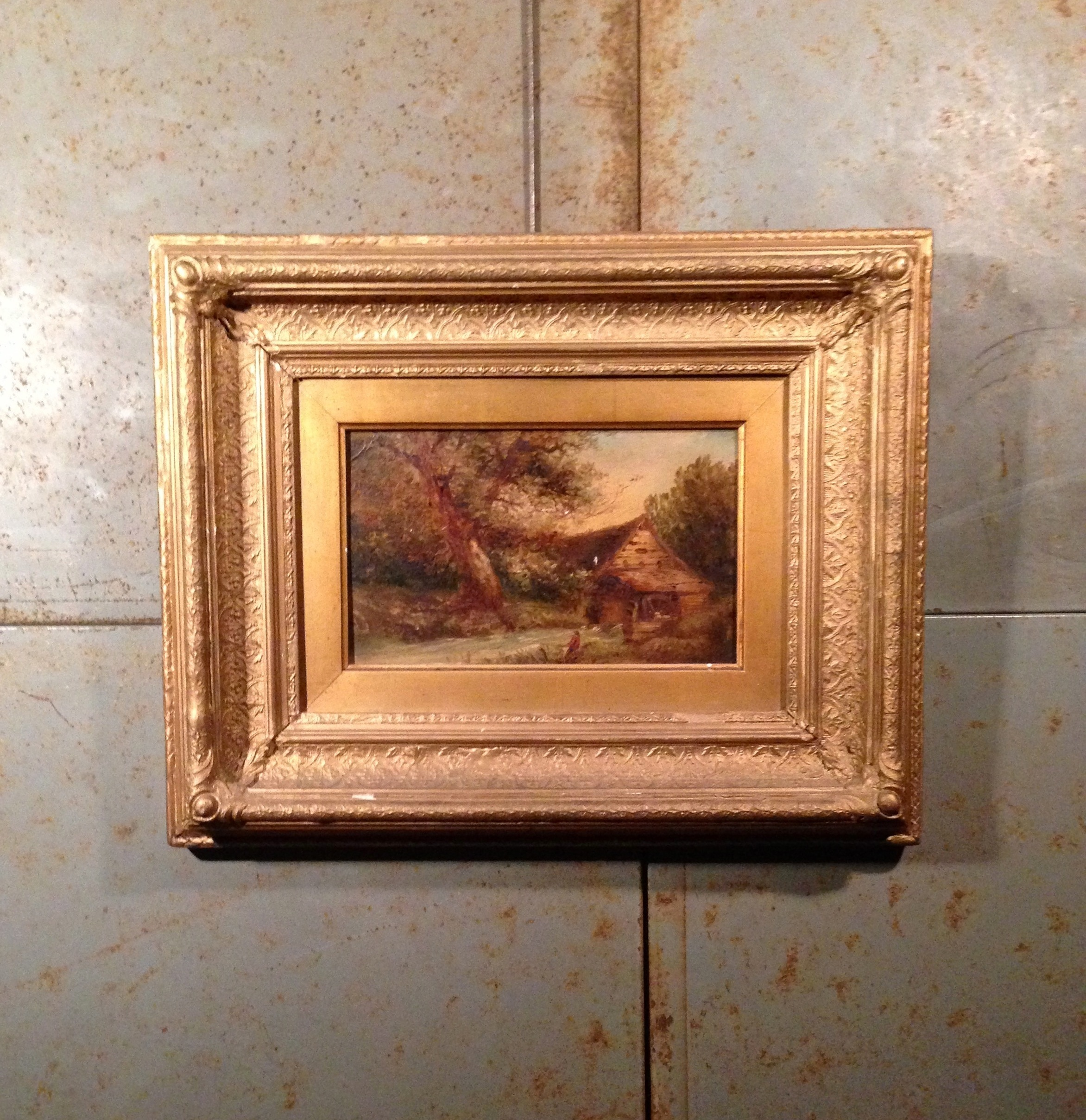 Victorian Gilt Frame Oil Painting | Artistic Industrial - Part 1