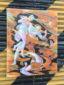 Orange psych painting 3